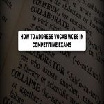 Address Vocab Woes in Competitive exams