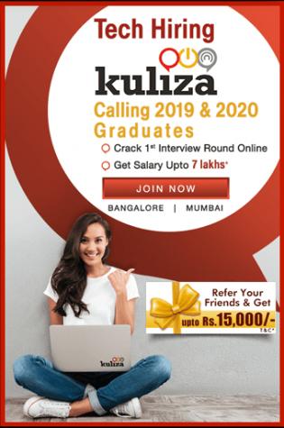 Kuliza hiring