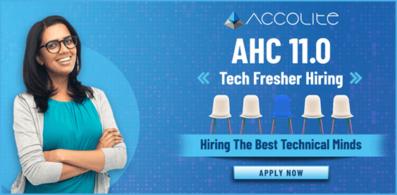 AHC 11.0 Tech Fresher Hiring