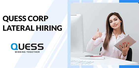 Quess Corp hiring